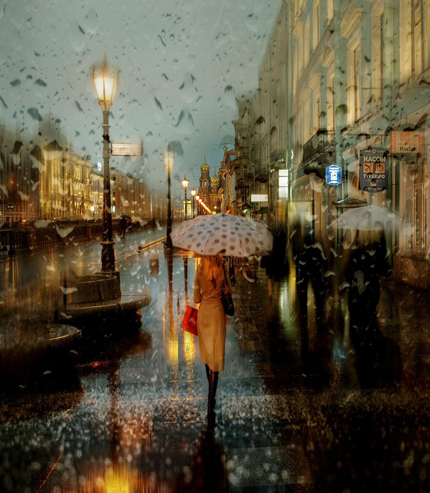 Rain Street Oil. Photo 1