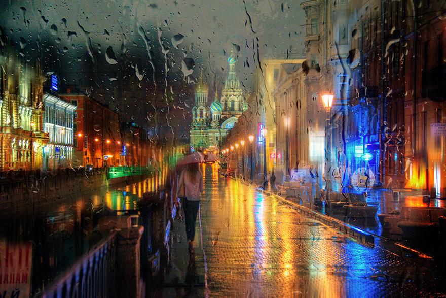 Rain Street Oil. Photo 10