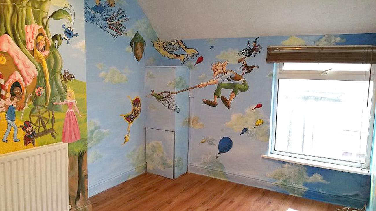 საბავშვო ოთახის ზღაპრული დიზაინი 12
