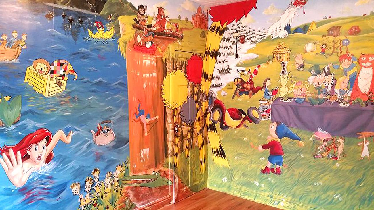 საბავშვო ოთახის ზღაპრული დიზაინი 3