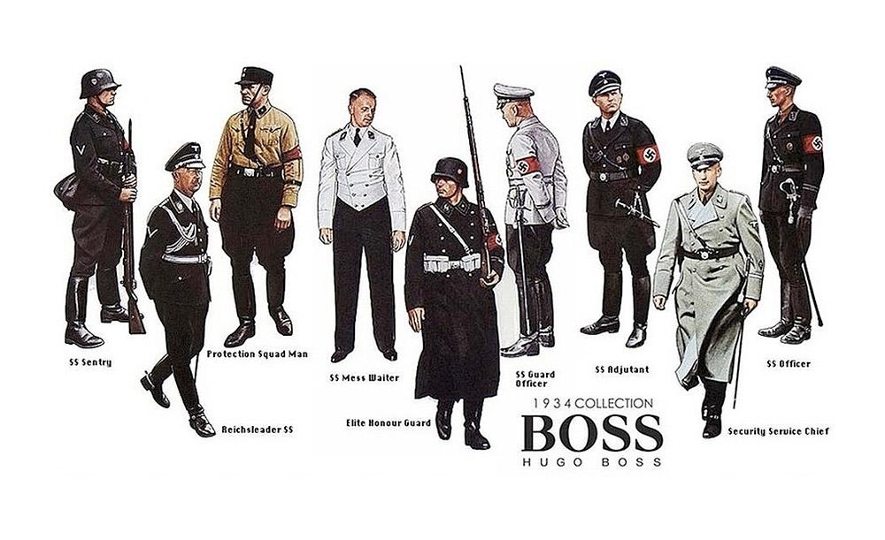 ნაცისტებისათვის ფორმას სახელგანთქმული Hugo Boss-ი კერავდა