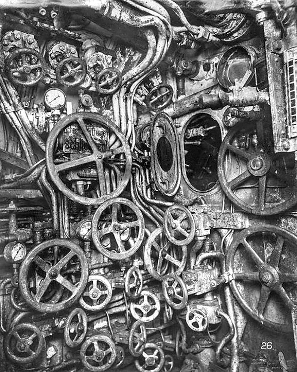 პირველი მსოფლიო ომის დროინდელი წყალქვეშა ნავი
