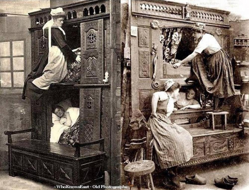 ასე ეძინათ მოახლეებს ინგლისში, 1843 წელი