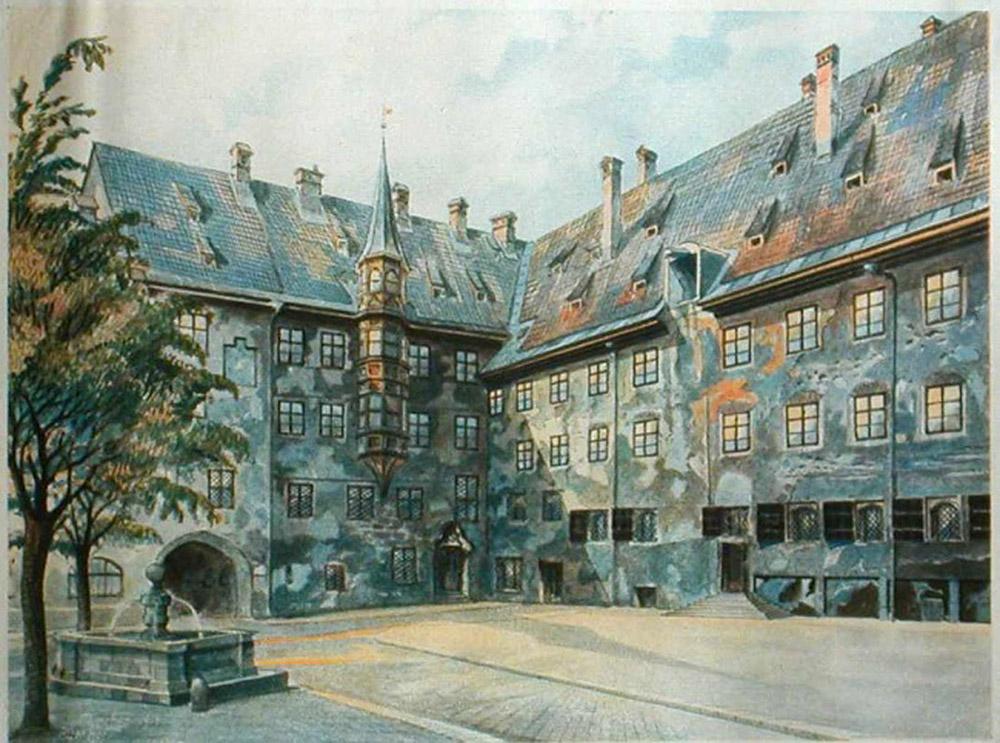 ადოლფ ჰიტლერის ნახატი 2