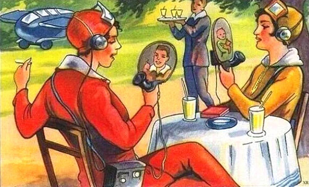 როგორ წარმოედგინათ მომავლის ტექნოლოგიები 1924 წელს ფრანგ ილუსტრატორებს