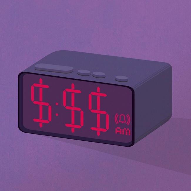 დრო - ფულია