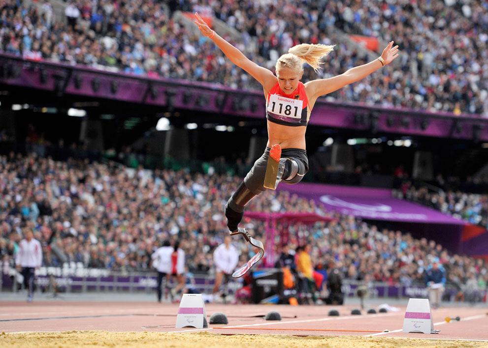 ვანესა ლოვი, 2016 წლის პარაოლიმპიური ჩემპიონია, სიგრძეზე ხტომაში. მან მსოფლიო რეკორდი დაამყარა - 4.93 მ