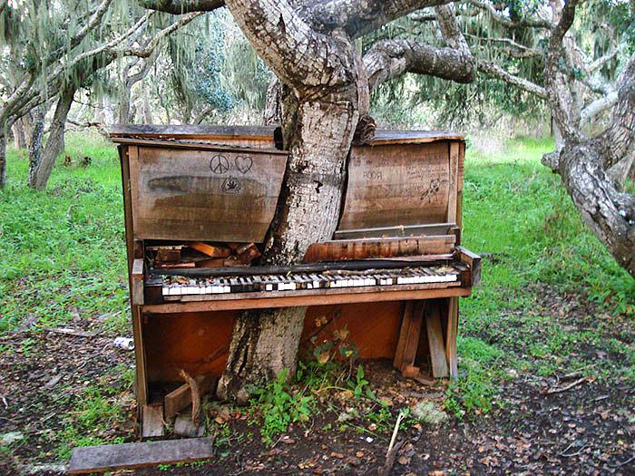 ძველი ხე-ფორტეპიანო